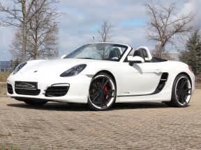 White Porsche Boxster White Speedart Porsche Boxster S Sp81 R Gtspirit