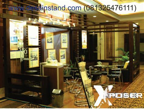 desain booth kayu special booth design kontraktor pameran