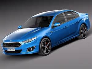 Ford Xr8 Ford Falcon Xr8 2015 3d Model Max Obj 3ds Fbx C4d