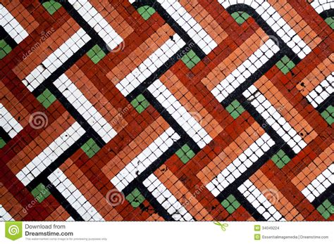 pattern mosaic tile floor mosaic floor tile pattern stock photo image of exterior