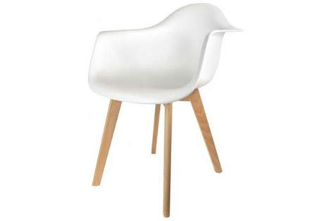 Chaise Accoudoir Scandinave by Chaise Scandinave Avec Accoudoir Blanc Fjord Chaise
