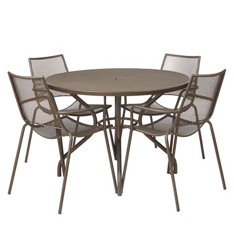 4 seater table and chairs lewis ala mesh 4 seater garden dining table and