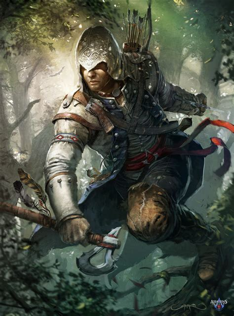 the art of assassinss cover imaginefx n 89 assassin s creed 3 by okmer on