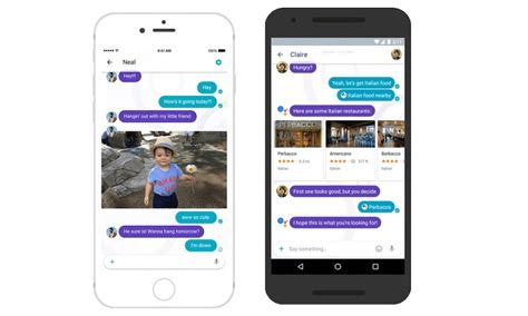 iphone messaging app for android introduces revolutionary new allo messaging and duo calling apps for android and ios