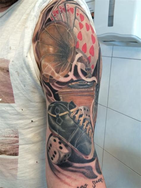 poker tattoo best 25 ideas on tattoos