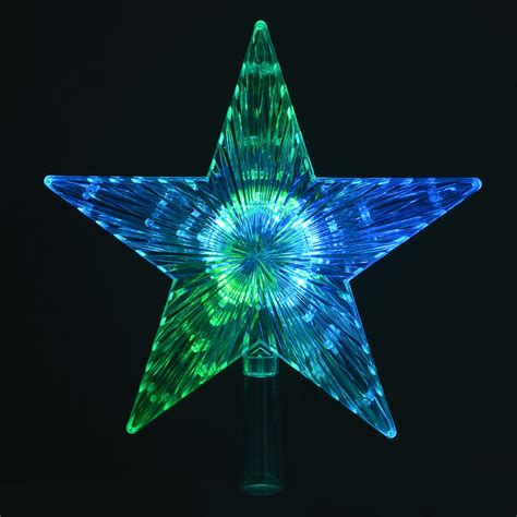 light up tree topper colour changing led light up tree topper