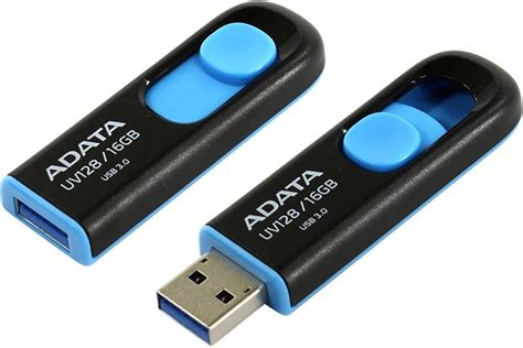 Flash Disk A Data Uv128 16 Gb Usb 3 usb flash disk a data uv128 16gb čern 253 modr 253 teshop cz