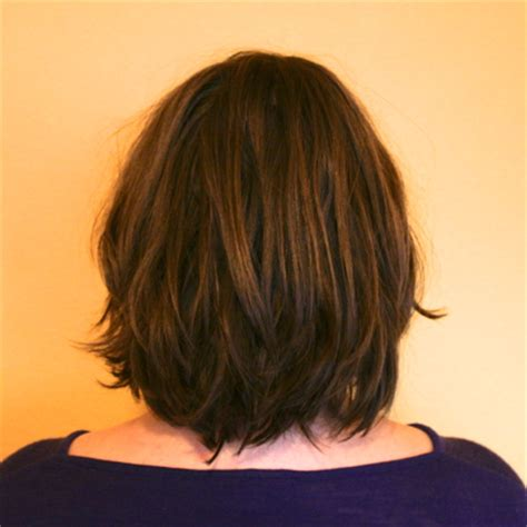 shorter hair in the back in yhe back longer on the front pics donating hair to a cancer patient frugal kiwi