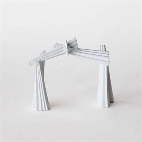 Porcelain Origami Nativity Set - one hundred and eighty degrees porcelain origami nativity