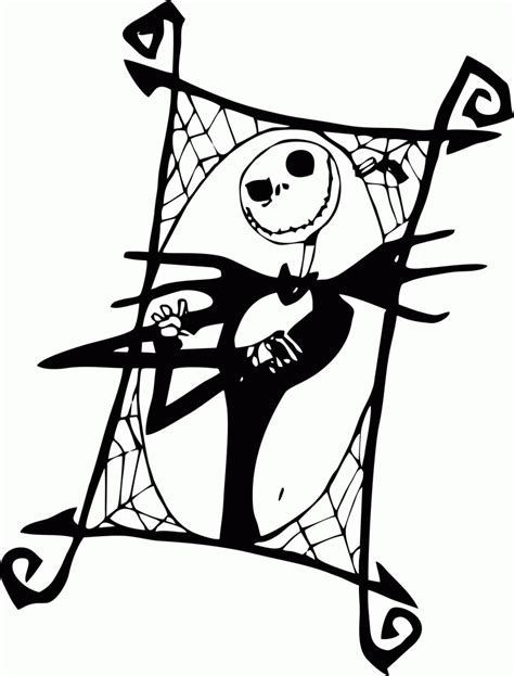 skellington coloring pages free nightmare before coloring pages printable