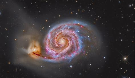 whirlpool galaxy copula the whirlpool galaxy astrology king