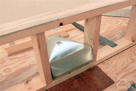 framing a window seat how to move a floor register in a window seat pretty