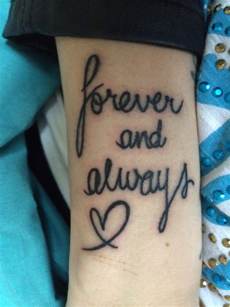 forever and always tattoo forever and always tattoos piercings