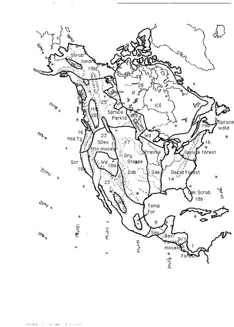 map of america 12000 years ago j 1996 reconstruction of america during