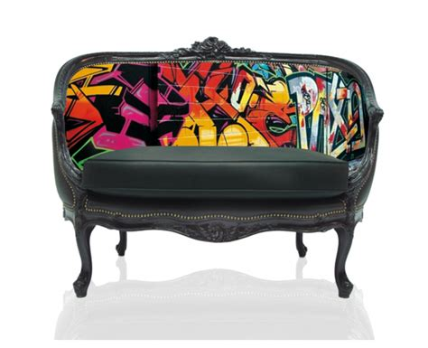 Graffiti Furniture by Teo Digitally Printed Furniture
