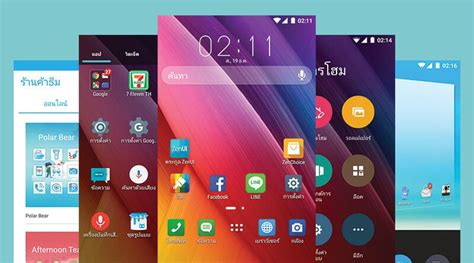 themes asus launcher ร ว ว zenui launcher ธ มสไตล asus ท ม อถ อ android ท ก