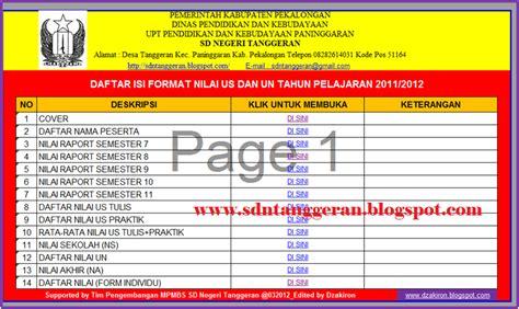 format daftar hadir tamu download gratis format nilai ujian sekolah dan ujian