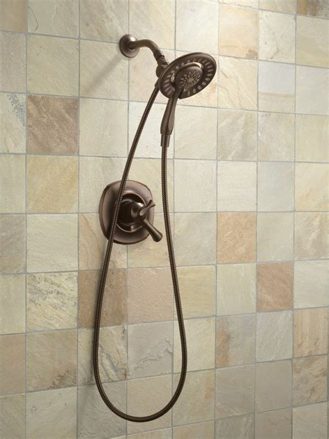 Kitchen Faucets Menards by New Two In One Shower Head Set Bathroom Venetian Bronze