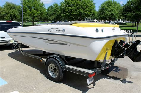 used tracker deck boats for sale tracker tahoe 192 deck boat excellent condition no