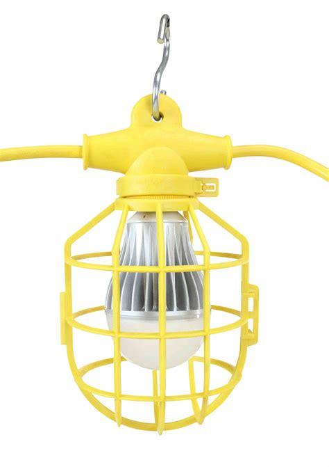 150ft Temporary Construction String Light 15 Led Work Construction String Lighting