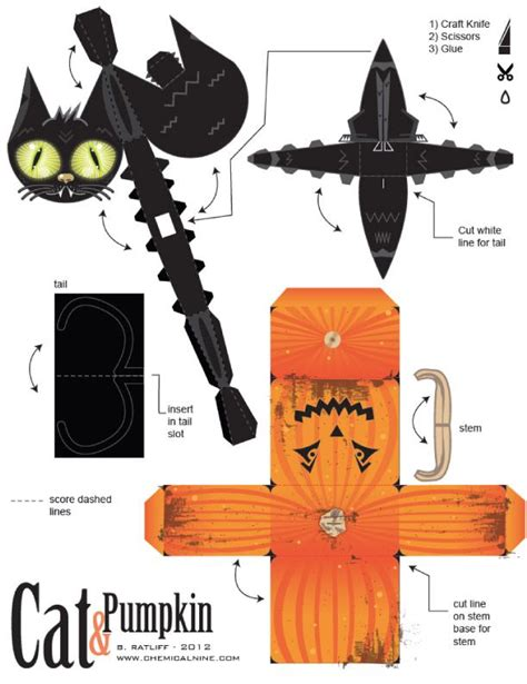 Paper Craft Blogs - 25 unique pumpkin template printable ideas on