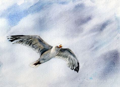 painting the sea people and birds with watercolor basics 17 best images about seaside paintings on pinterest