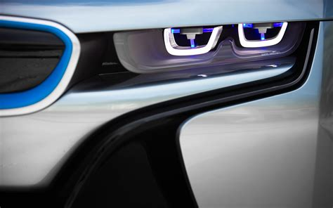 bmw i8 headlights bmw i8 concept spyder wheels photo 12