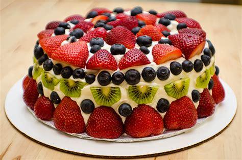 cream cheese pound cake with fresh fruit whipped cream