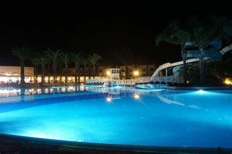 pool at night pool at night picture of tui family life tropical resort