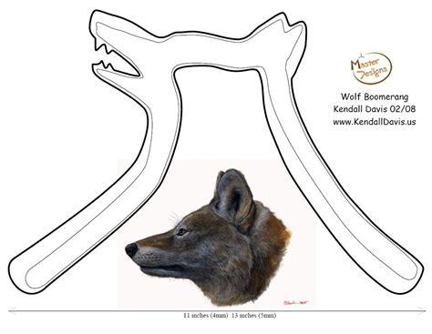 E Plans Wolf Boomerang Jpg