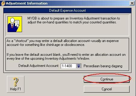 membuat iklan barang 3 input persediaan barang dagang akuntansi myob dan