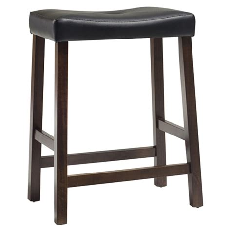 Saddle Seat Bar Stools 24 by Upholstered Saddle Seat Bar Stool With 24 Inch Seat Height