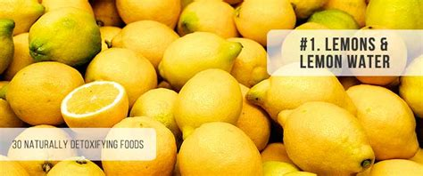 Drop Away Detox Side Effects by 30 Amazing Foods You Can Use To Naturally Detoxify Your