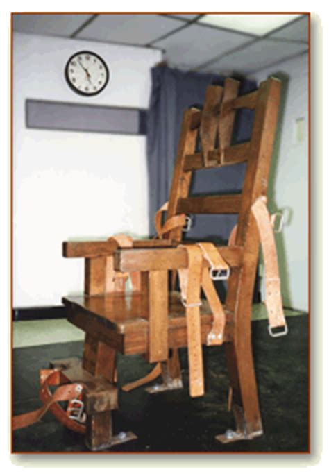 Florida Electric Chair by Shortage Could Delay Executions In Florida