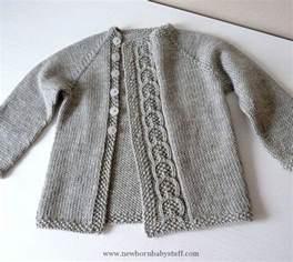 Baby knitting patterns knittingant s olive you baby cardigan