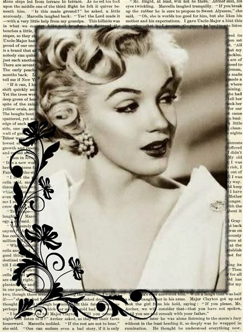 i vintage free illustration vintage collage marilyn