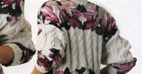 Topi Whynot Clothes gallery ru 76 rozes liepa stranded knitting jacquard intarsia and the likes