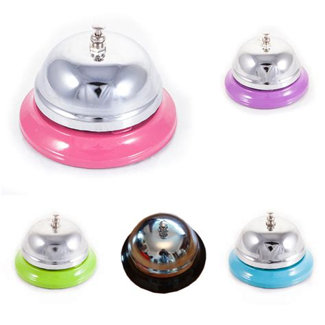 Reception Desk Bell Colourful Hotel Reception Cashier Desk Table Bell Boy Service Bell Ebay