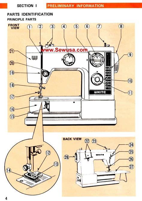 White 505 Instruction Manual