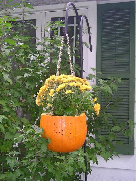 Pumpkin Planter by Diy Pumpkin Planter A Craft In Your Day