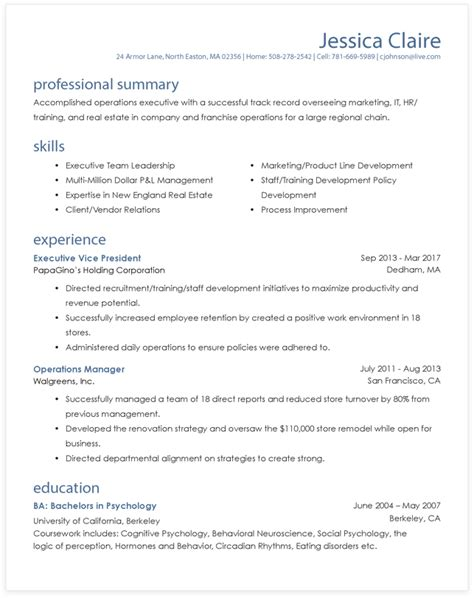 resume format guide resume format guide which format to use myperfectresume
