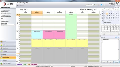 Patient Scheduling Template patient appointment scheduling nowmd