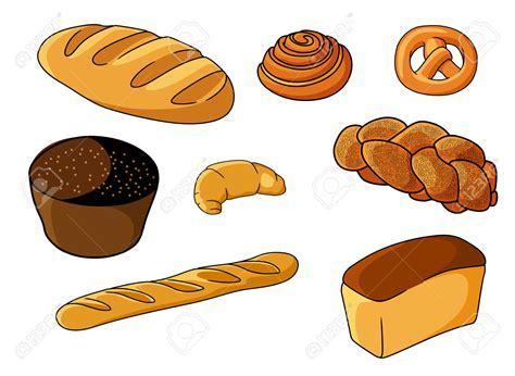 cartoon rolls grain clipart bakery pencil and in color grain clipart