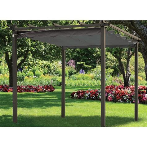 buy siena pergola replacement cover charcoal online at