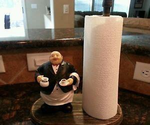 fat chef red wood wall shelf waiter bistro home decor ebay italian fat chef paper towel holder wall mounting shelf