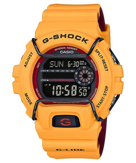 Casio Gshock Original Gls 6900 9dr gls 6900 9 g lide g shock timepieces casio