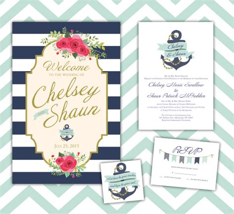 Wedding Invitations Nautical Theme by Printing By Custom Design And Printing