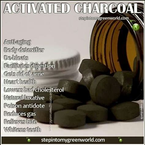 ideas  activated charcoal benefits