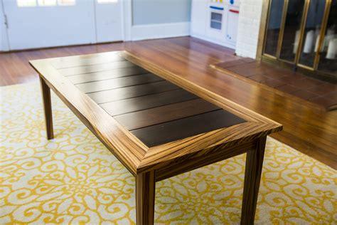 Zebrawood Coffee Table Oe Custom Zebra Wood Coffee Table