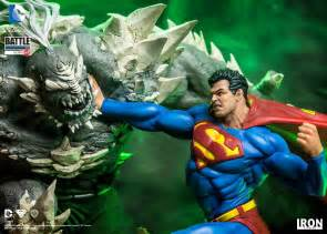 Wall Art Stickers For Kitchen superman vs doomsday 1 6 scale battle diorama statue